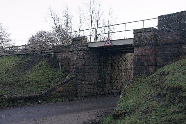 Railway bridge at Commondale