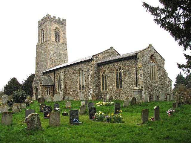 St Mary Magdalene, Mulbarton, Norfolk