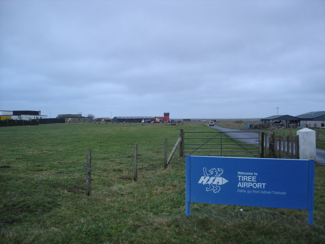 Airport complex Tiree