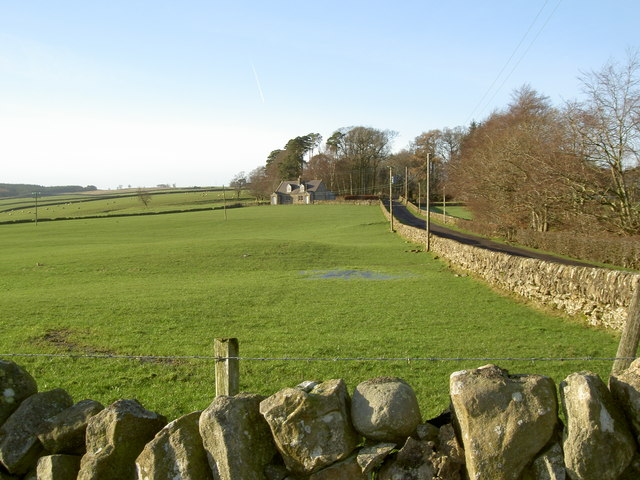 The lane to Barr