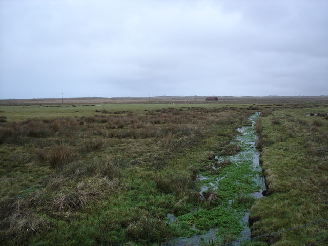 Crofting land near Heylipol