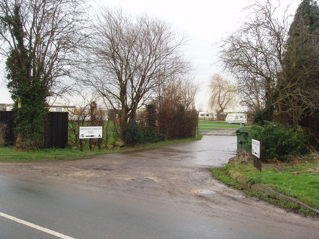 Whitecote Caravan Park, Ulleskelf, near Tadcaster, North Yorkshire