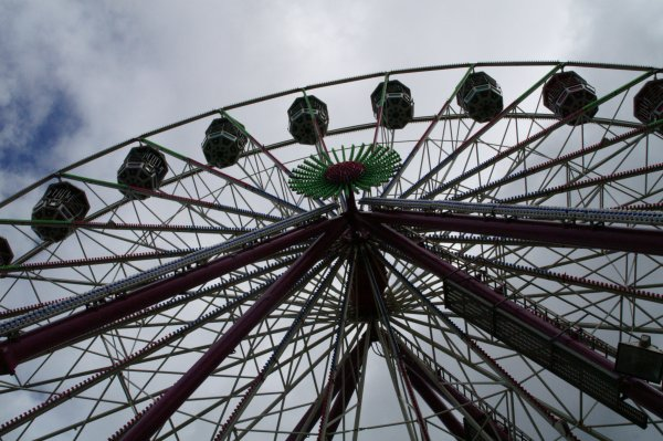 Ferris wheel, M&Ds Theme Park, Strathclyde Country Park