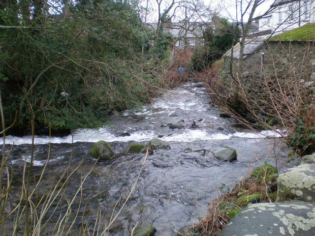 Weir in River Gwril