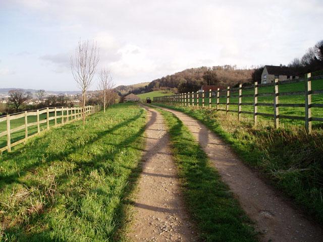 Track to Woodside Farm