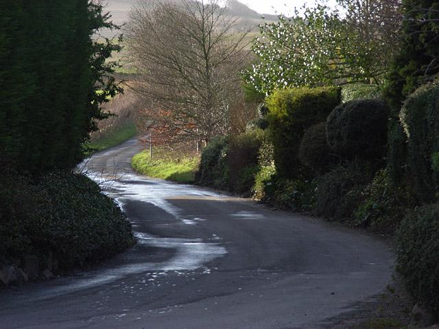 Lane at Westcot