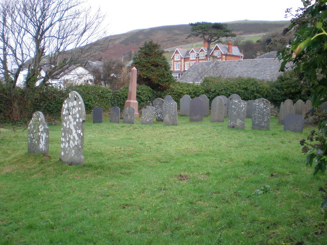 Quaker cemetery Llwyngwril:: OS grid SH5910 :: Geograph Britain ...