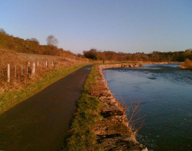 Cumbria Way and River Caldew