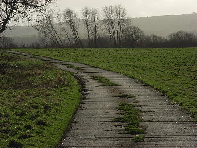 Track near South Farm