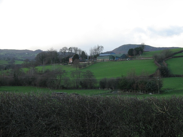 Farmland At Dolgead Hall