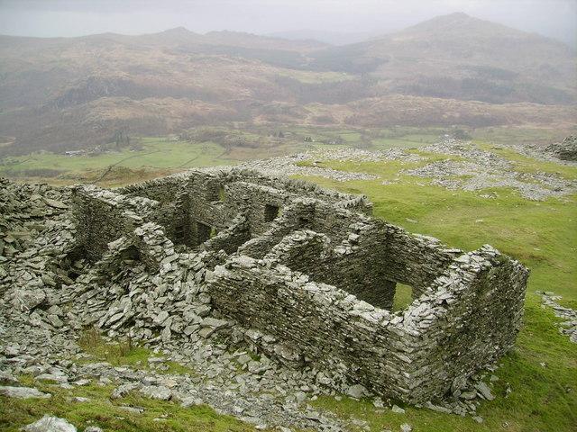 Ruins, Walna Scar Quarry