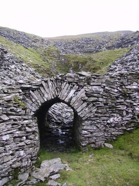 Tunnel, Walna Scar Quarry