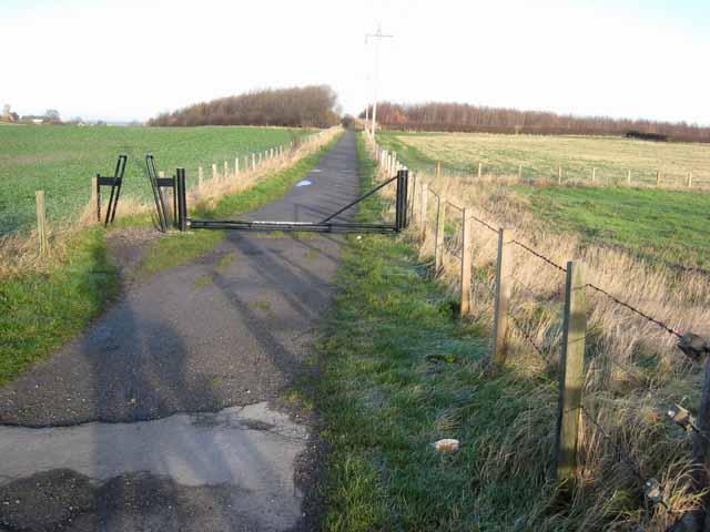 Great North Forest Trail at Hazard Lane, East Rainton