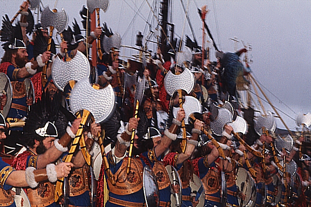 Up Helly Aa  (2) - the Jarl Squad