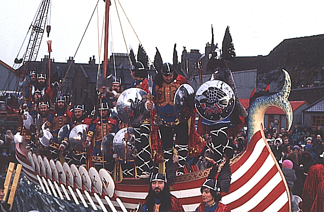 Up Helly Aa (3) - the Galley