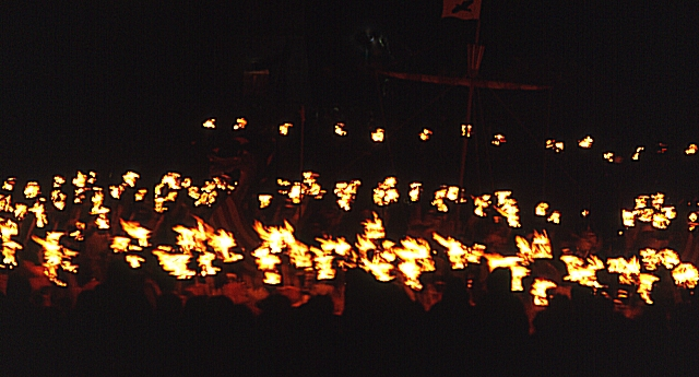 Up Helly Aa (4) - the Procession