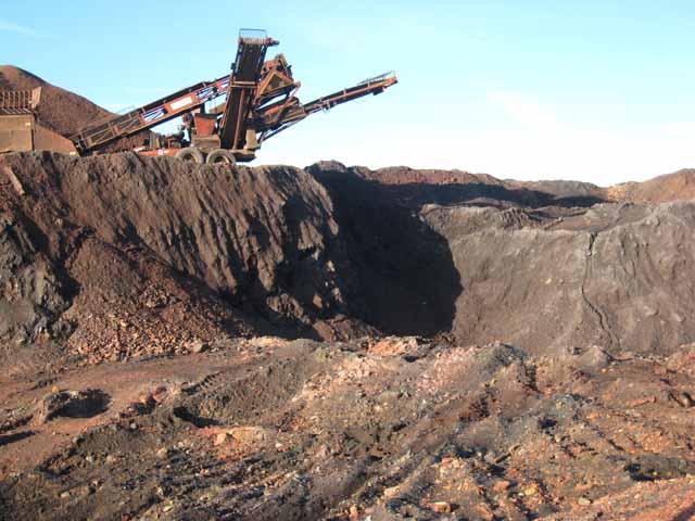 Sand quarry at Hetton-le-Hole