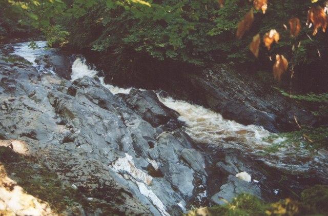 Small gorge River Tilt Blair Atholl Red Squirrel Path