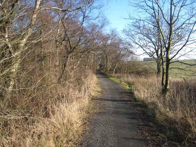Green Lane near South Sharpley