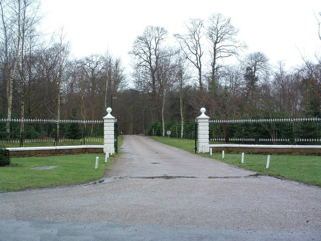 Entrance To Kesgrave Hall