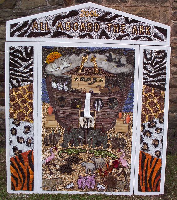 Brackenfield Well Dressing 2004