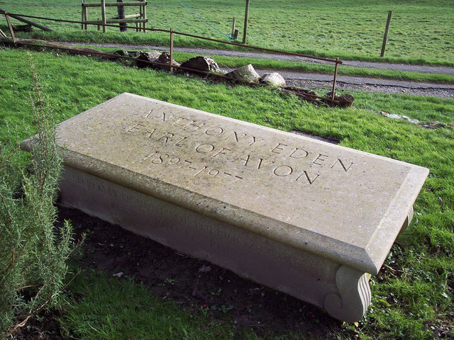 Tomb of Anthony Eden, Earl of Avon 1897-1977