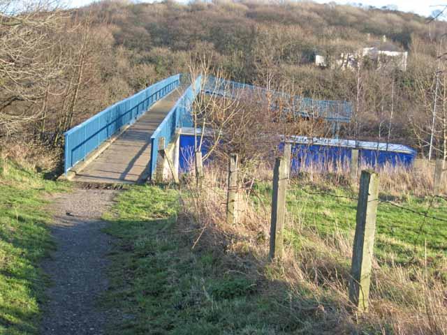 Footbridge over the A19
