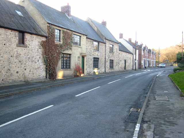 Row of houses in Dalton-le-Dale