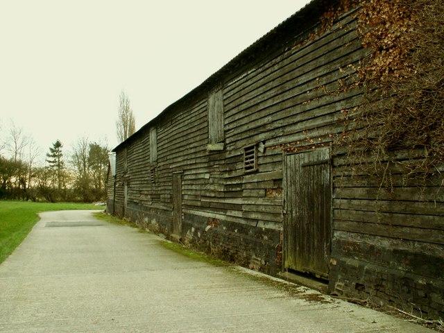 Old barn at Hill's Farm