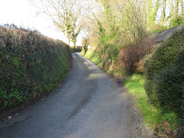 The Road To Plas Cichle