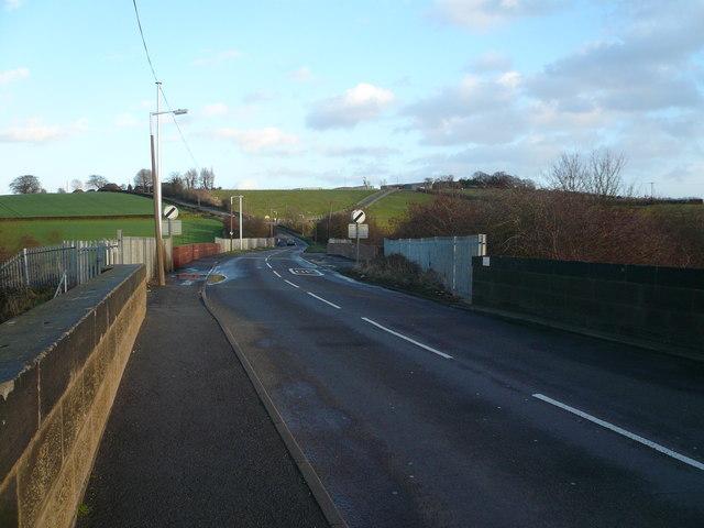 Tupton - Railway Bridge and Hagg Hill
