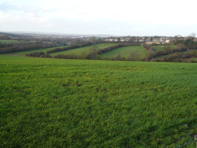Grassmoor - View from top of Hagg Hill