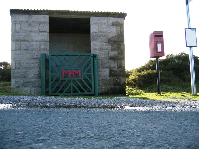 Bus Shelter at Moel-y-crio