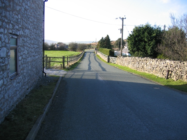 The Road Out of Moel-y-crio