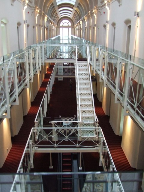 19th C Victorian Prison (in castle) turned into 21st C 4 star Hotel