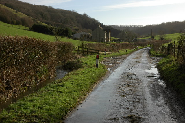 Lane at Lower Kilcott