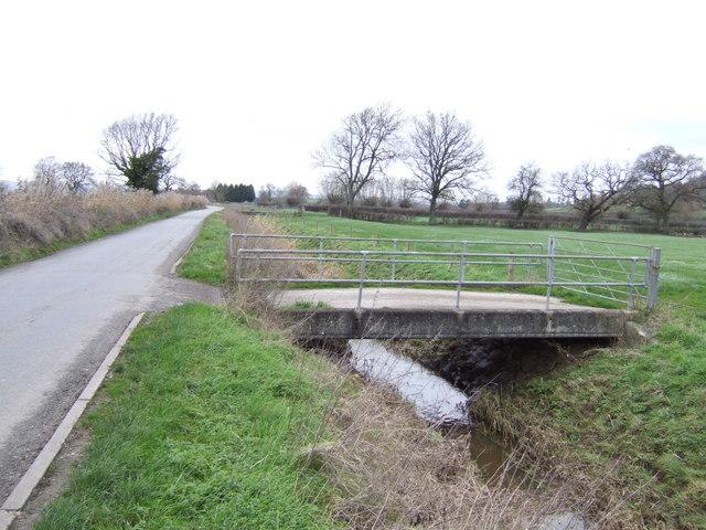 Bridge over a culvert