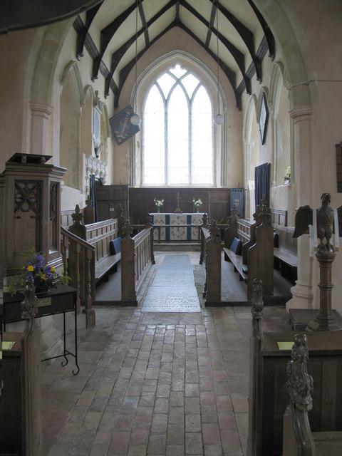 St Nicholas, Bracon Ash, Norfolk - East end