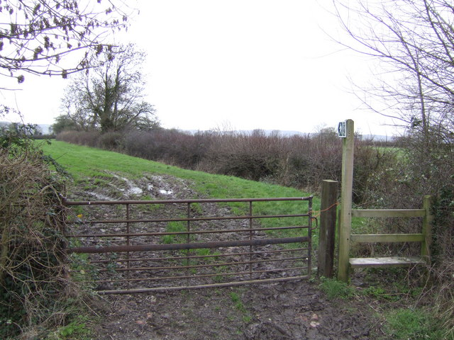 Footpath to the Severn