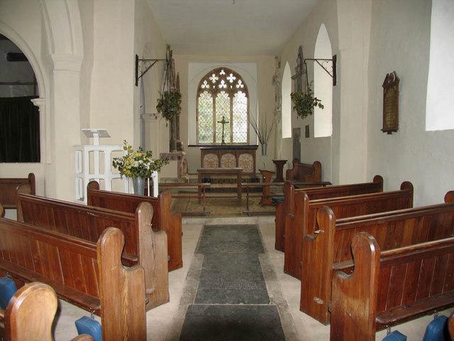 All Saints, Hethel, Norfolk - East end