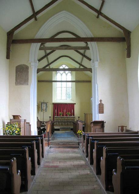 St Edmund's, Caistor St Edmund, Norfolk - East end