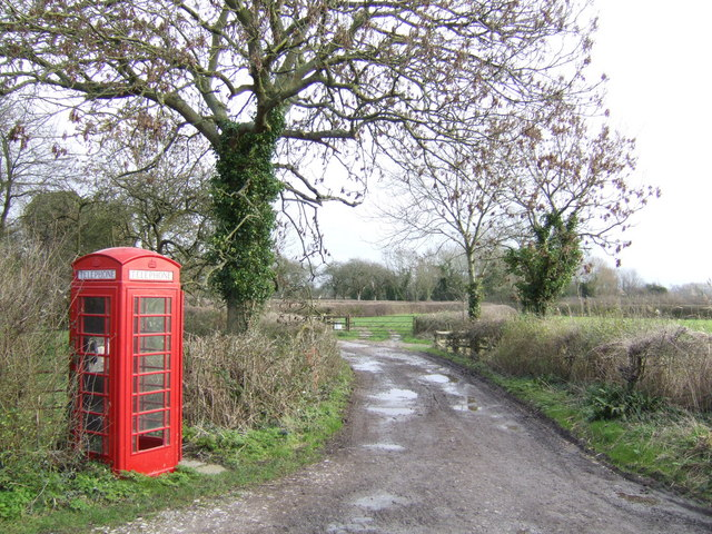 Phonebox by the Bridleway