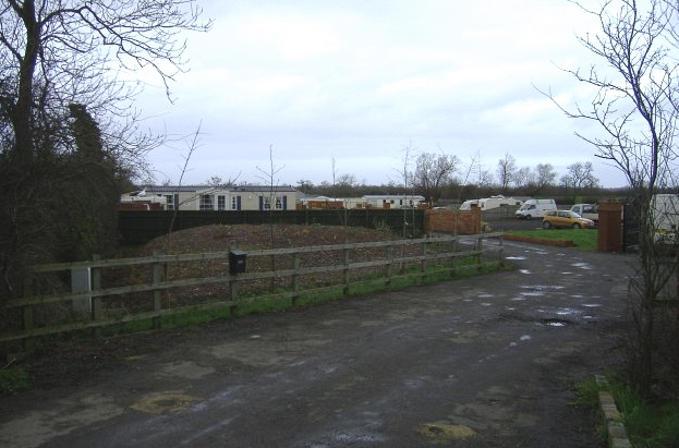 Gypsy site at Minety
