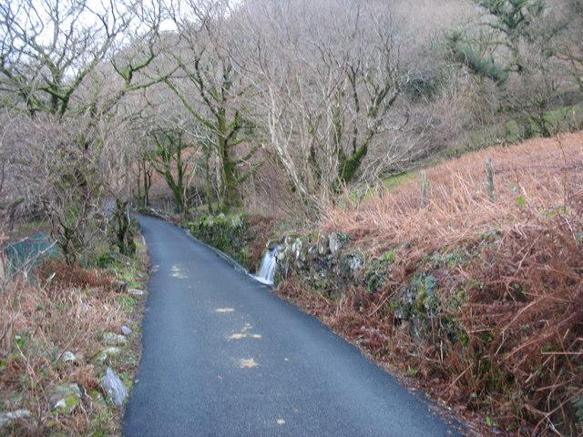 The Clegyr  road