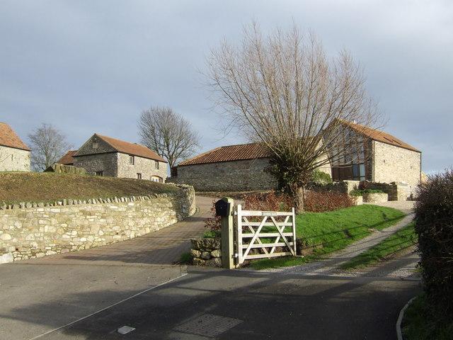 Converted farm buildings