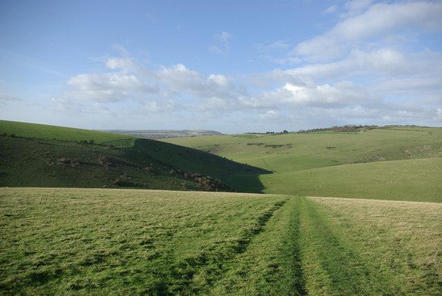 Trail from Glynde to Lewes