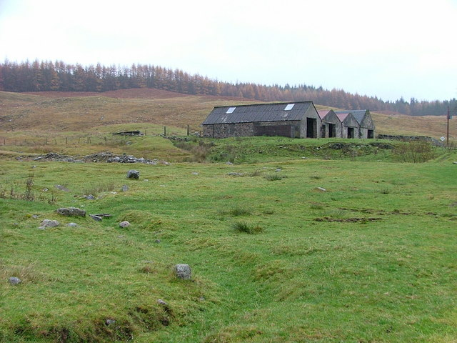 Farm Buildings at Balnacarn