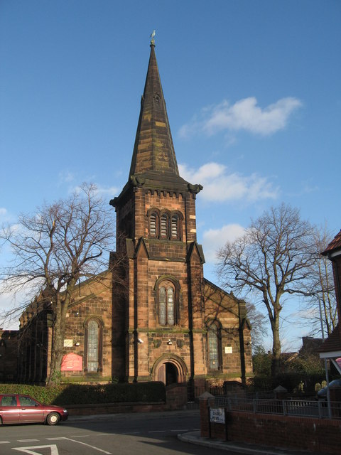 St Peter's C of E, Rock Ferry