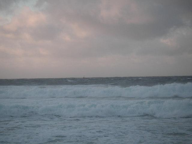 European Marine Energy Centre buoy off  Billia Croo