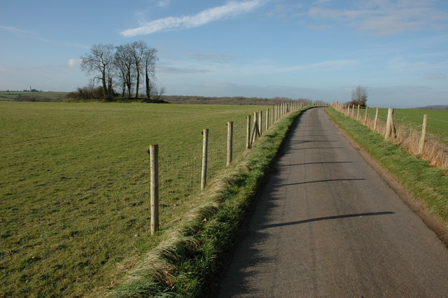 Road from Starveall to Upper Kilcott